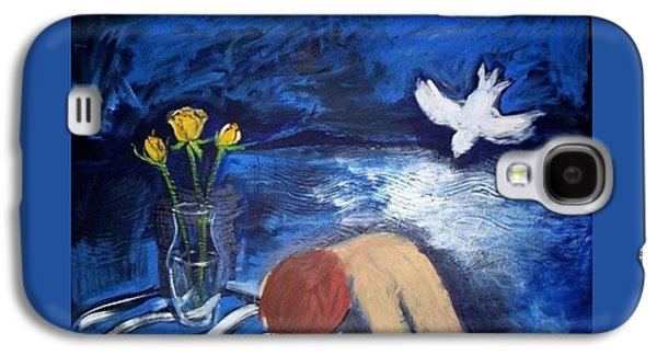 Galaxy S4 Case featuring the painting The Healing by Winsome Gunning