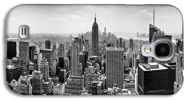 New York City Skyline Bw Galaxy S4 Case