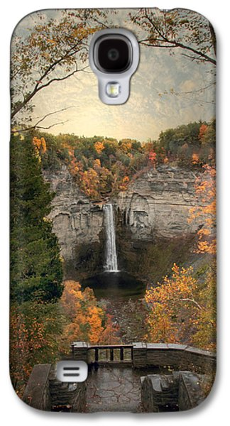 The Heart Of Taughannock Galaxy S4 Case by Jessica Jenney