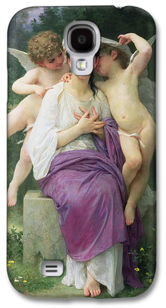 The Hearts Awakening Galaxy S4 Case by William Adolphe Bouguereau