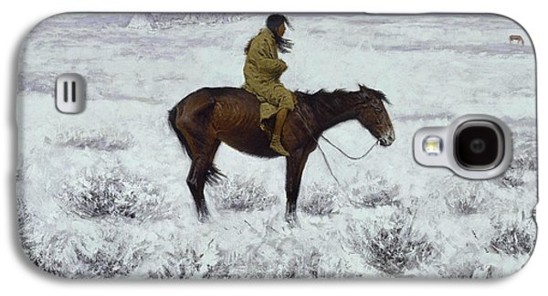 The Herd Boy Galaxy S4 Case by Frederic Remington