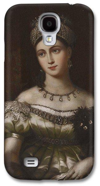 The Hereditary Duchess Of Saxe Gotha Altenburg Galaxy S4 Case by MotionAge Designs