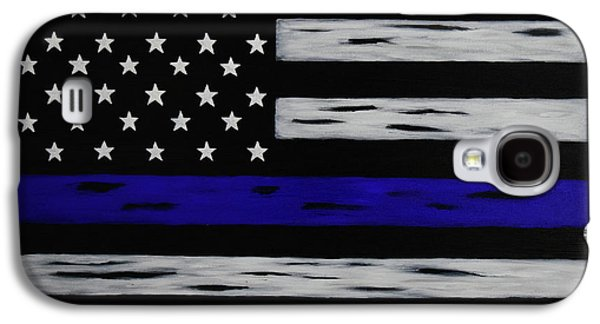 The Heroic Thin Blue Line Galaxy S4 Case