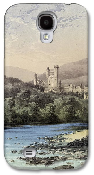 The Highland Home, Balmoral Castle Galaxy S4 Case by English School