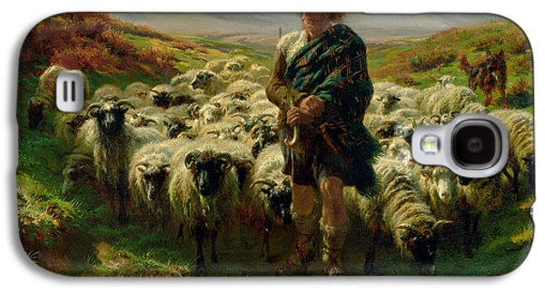 The Highland Shepherd Galaxy S4 Case by Rosa Bonheur