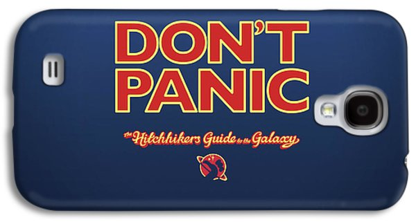 Design Galaxy S4 Case - The Hitchhiker's Guide To The Galaxy by Super Lovely