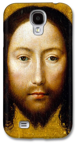 The Holy Face Galaxy S4 Case by Flemish School