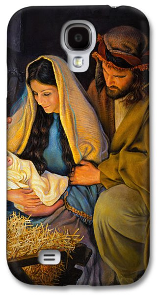 The Holy Family Galaxy S4 Case by Greg Olsen