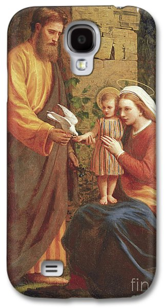The Holy Family Galaxy S4 Case by James Collinson