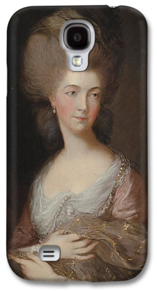 The Hon Mrs Anna Luttrell Duchess Of Cumberland  Galaxy S4 Case by Celestial Images