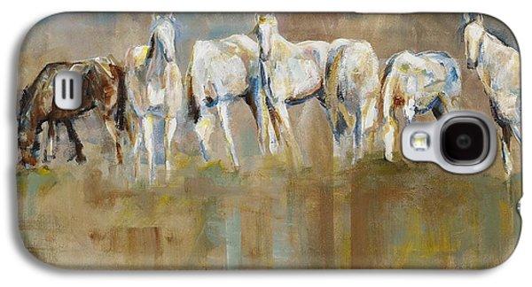Horse Galaxy S4 Case - The Horizon Line by Frances Marino