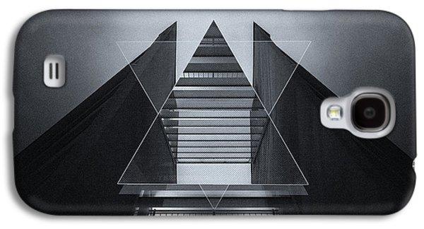 The Hotel Experimental Futuristic Architecture Photo Art In Modern Black And White Galaxy S4 Case