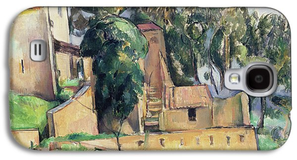 The House At Bellevue Galaxy S4 Case by Paul Cezanne