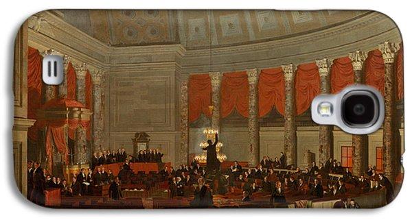 The House Of Representatives Galaxy S4 Case by Samuel Finley Breese Morse