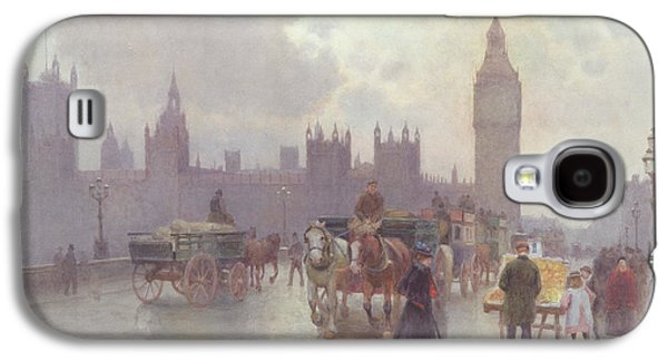The Houses Of Parliament From Westminster Bridge Galaxy S4 Case by Alberto Pisa
