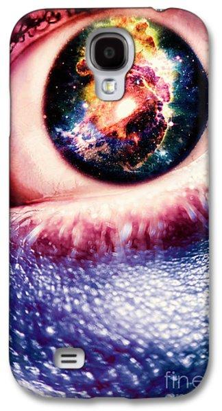 The Human Evolution Galaxy S4 Case