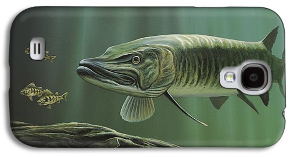 The Hunter - Musky Galaxy S4 Case by Anthony J Padgett