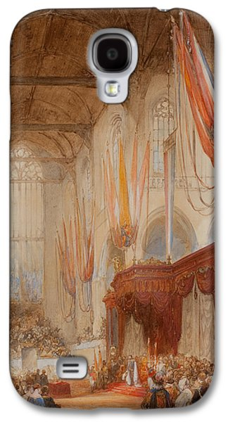 The Inauguration Of King Willem IIi Galaxy S4 Case