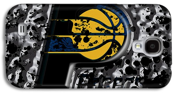 The Indiana Pacers Galaxy S4 Case by Brian Reaves