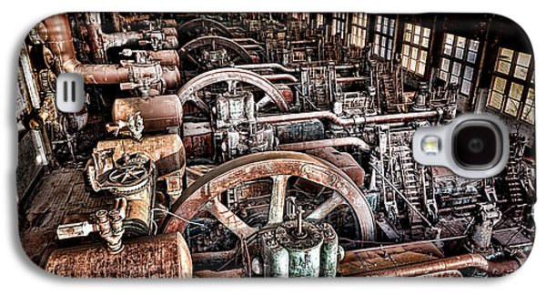The Industrial Age Galaxy S4 Case by Olivier Le Queinec
