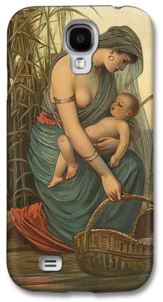 The Infant Moses And His Mother Galaxy S4 Case by Philip Richard Morris