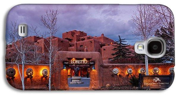 The Inn At Loretto At Twilight - Santa Fe New Mexico Galaxy S4 Case by Silvio Ligutti