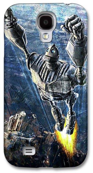 The Iron Giant Galaxy S4 Case by Andrea Gatti