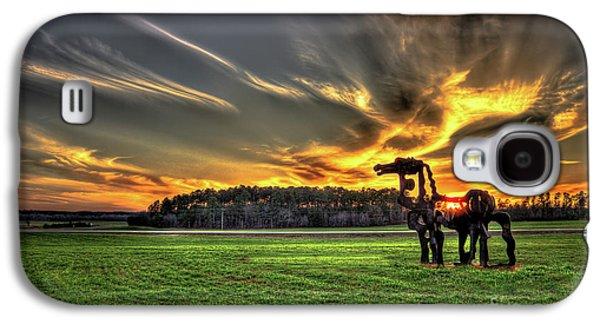 The Iron Horse Sunset Galaxy S4 Case
