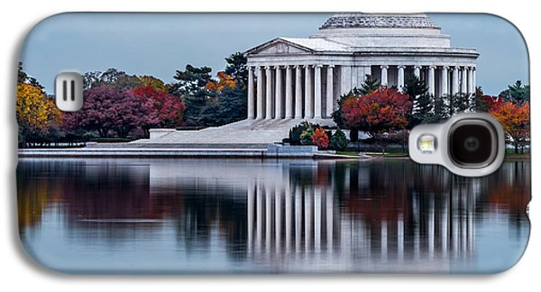 The Jefferson In Baby Blue Galaxy S4 Case