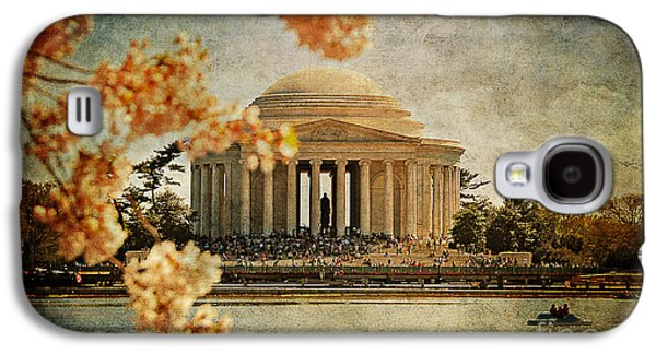 Jefferson Memorial Galaxy S4 Case - The Jefferson Memorial by Lois Bryan
