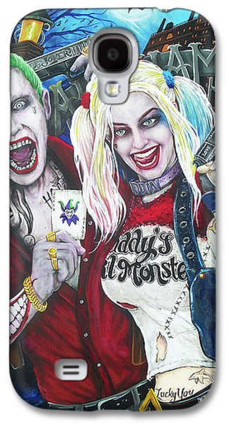 The Joker And Harley Quinn Galaxy S4 Case