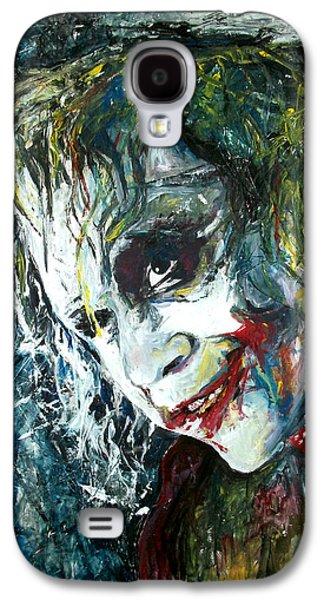 The Joker - Heath Ledger Galaxy S4 Case