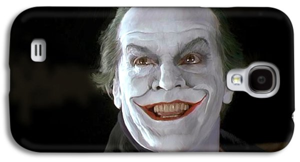 The Joker Galaxy S4 Case by Paul Tagliamonte