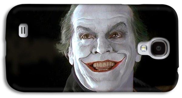 The Joker Galaxy S4 Case by Paul Tagliamonte