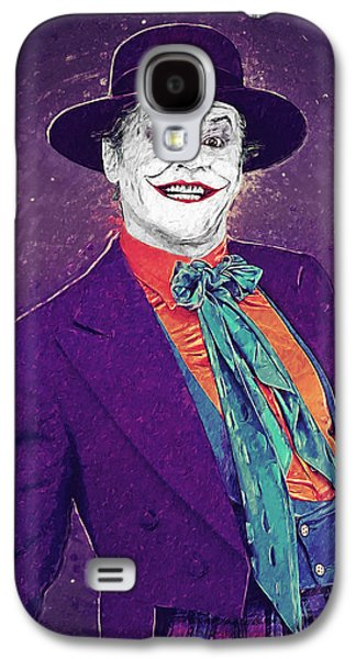The Joker Galaxy S4 Case by Taylan Apukovska