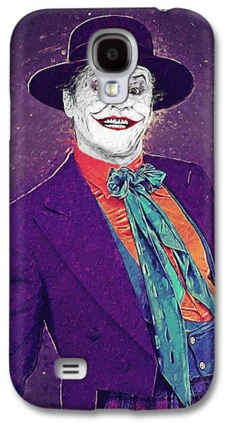 The Joker Galaxy S4 Case by Taylan Apukovska
