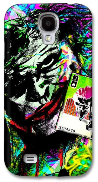 The Joker - Toxic Neon Remix Galaxy S4 Case by Soma79