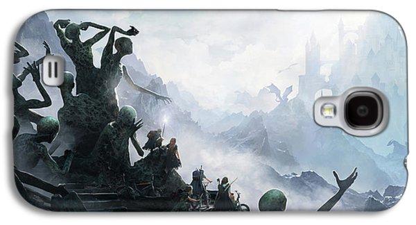 Knight Galaxy S4 Case - The Journey by Guillem H Pongiluppi