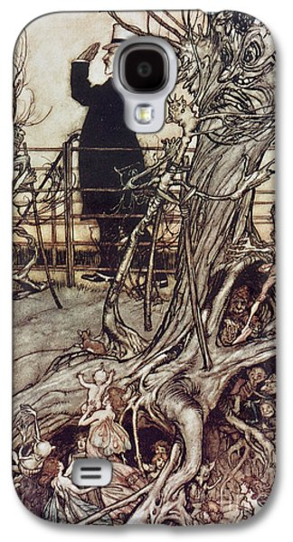 The Kensington Gardens Are In London Where The King Lives Galaxy S4 Case by Arthur Rackham