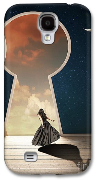 Curiouser And Curiouser Galaxy S4 Case by Juli Scalzi