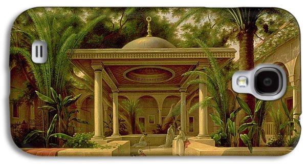 The Khabanija Fountain In Cairo Galaxy S4 Case by Grigory Tchernezov