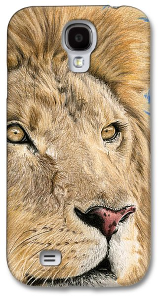 The King Galaxy S4 Case by Sarah Batalka