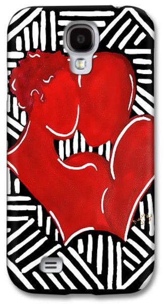 The Kiss Galaxy S4 Case by Diamin Nicole