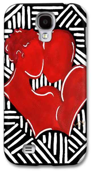 The Kiss Galaxy S4 Case by Diamin Nicole
