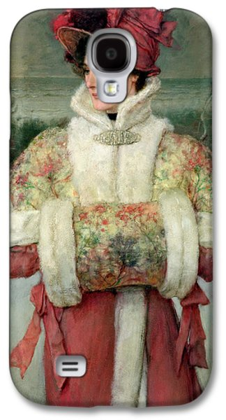 The Lady Of The Snows Galaxy S4 Case by George Henry Boughton
