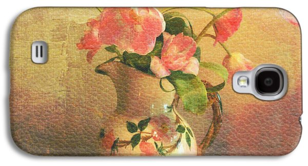 The Language Of Flowers Galaxy S4 Case by Kathy Bucari