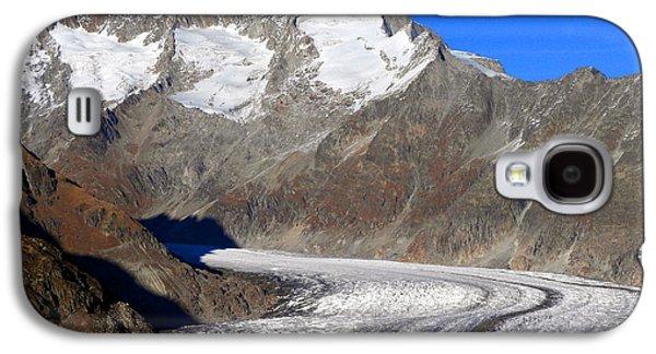 The Large Aletsch Glacier In Switzerland Galaxy S4 Case