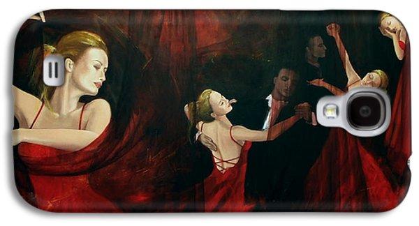 Live Art Galaxy S4 Cases - The last dance Galaxy S4 Case by Dorina  Costras