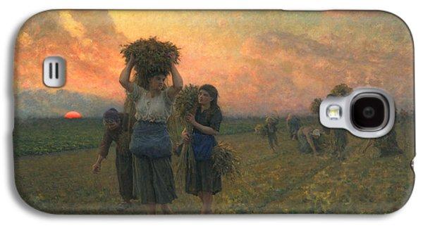 The Last Gleanings Galaxy S4 Case by Jules Breton