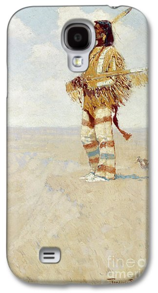 The Last Of His Race  The Vanishing American, 1908 Galaxy S4 Case by Frederic Remington